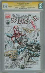 Amazing Spider-man #667 Montreal Custom Edition CGC 9.6 Signature Series Signed Neal Adams Jeff Balke Marvel comic book
